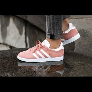 Adidas Gazelle Pink Shoes | Sneakers Suede Size 7